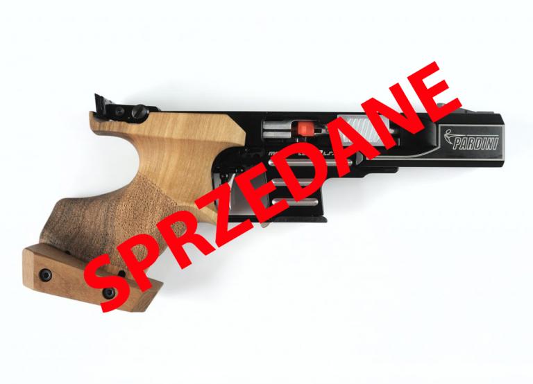 SPRZEDANY – W-MZSS sprzeda pistolet Pardini SP .22lr